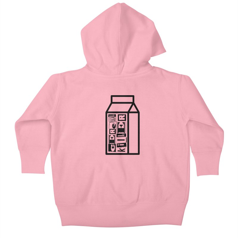 Cereal Killer Kids Baby Zip-Up Hoody by iconnico