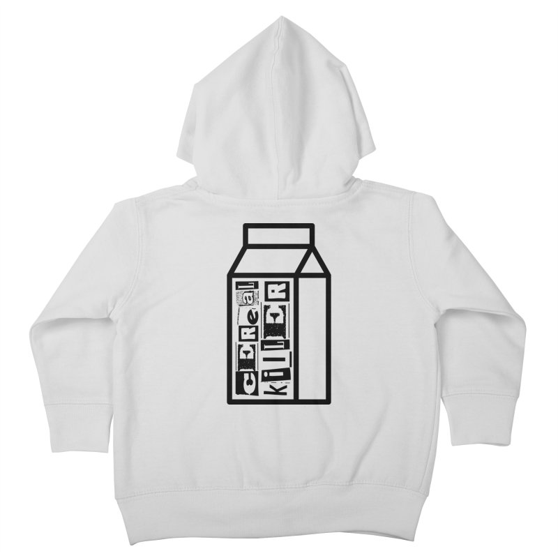 Cereal Killer Kids Toddler Zip-Up Hoody by iconnico