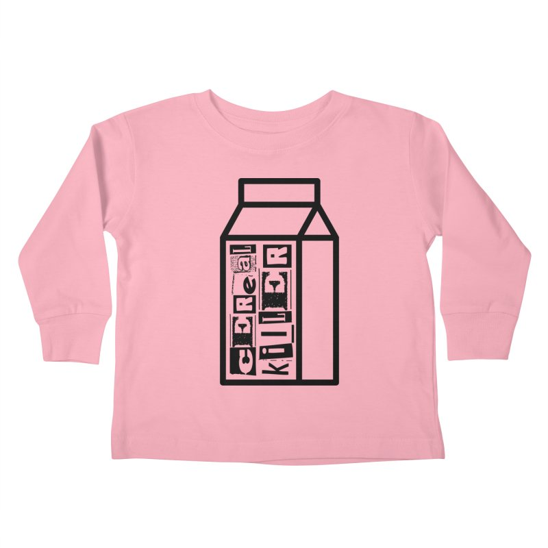 Cereal Killer Kids Toddler Longsleeve T-Shirt by iconnico