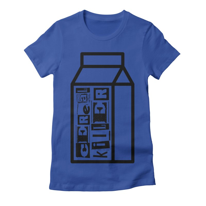 Cereal Killer Women's Fitted T-Shirt by iconnico