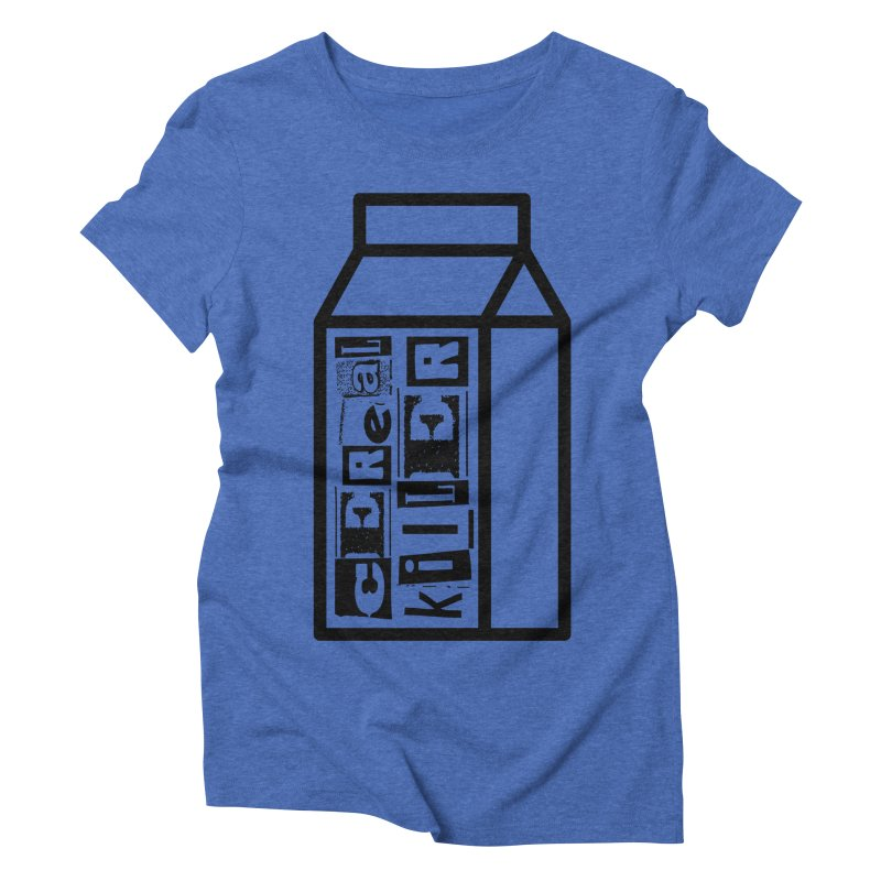 Cereal Killer Women's Triblend T-Shirt by iconnico