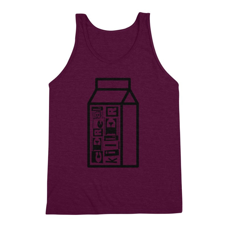 Cereal Killer Men's Triblend Tank by iconnico