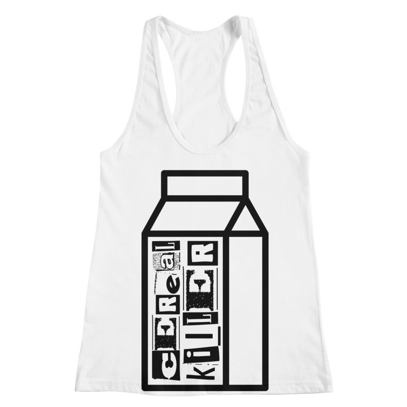 Cereal Killer Women's Racerback Tank by iconnico