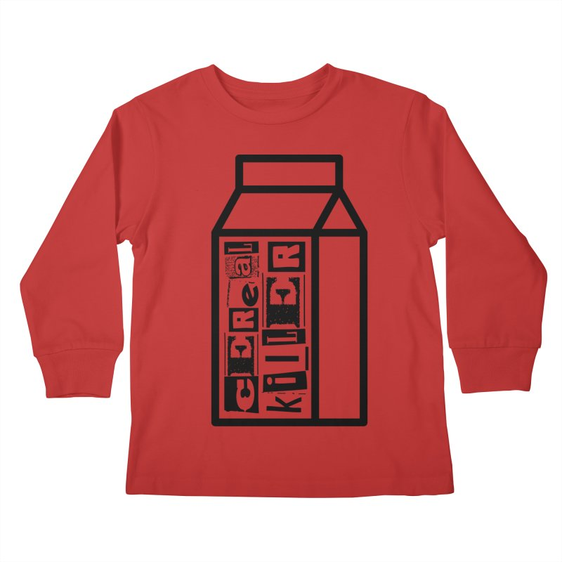 Cereal Killer Kids Longsleeve T-Shirt by iconnico