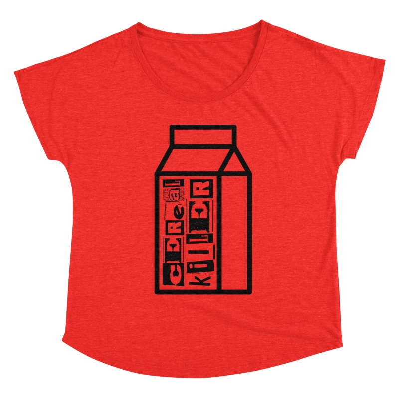 Cereal Killer Women's Scoop Neck by iconnico