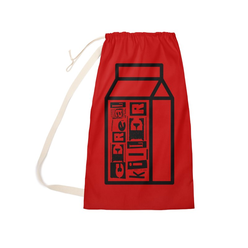 Cereal Killer Accessories Laundry Bag Bag by iconnico