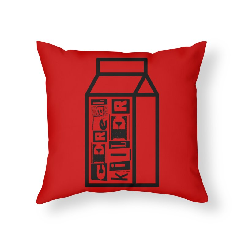 Cereal Killer Home Throw Pillow by iconnico