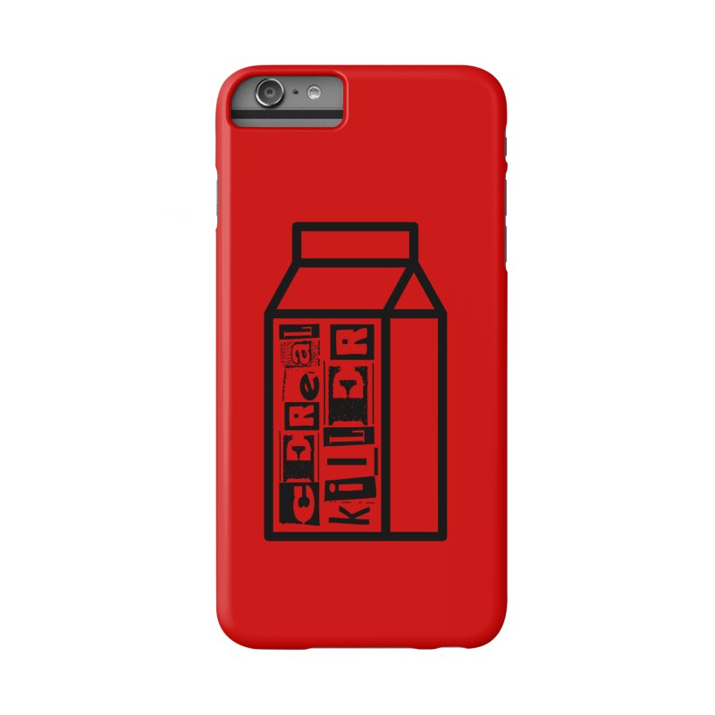 Cereal Killer Accessories Phone Case by iconnico