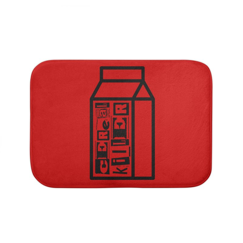 Cereal Killer Home Bath Mat by iconnico