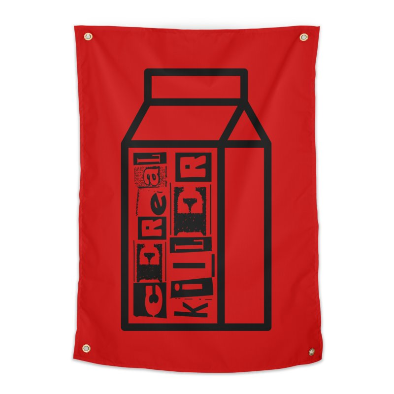 Cereal Killer Home Tapestry by iconnico