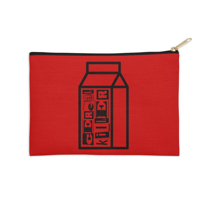 Cereal Killer Accessories Zip Pouch by iconnico