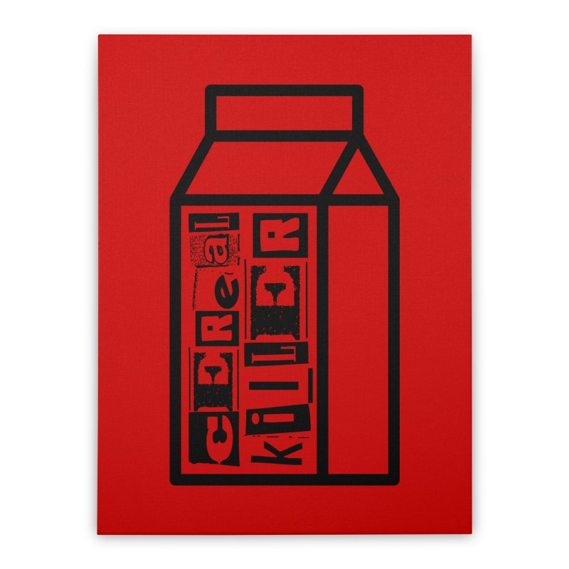 Cereal Killer Home Stretched Canvas by iconnico