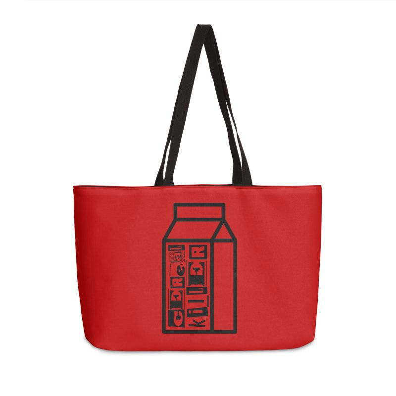 Cereal Killer Accessories Weekender Bag Bag by iconnico