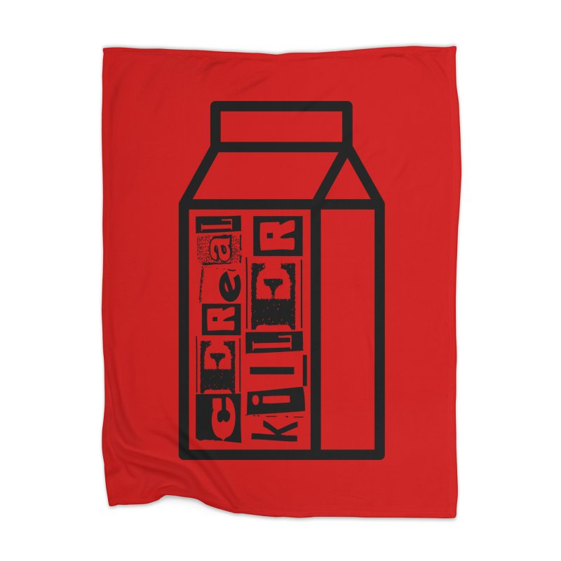 Cereal Killer Home Blanket by iconnico