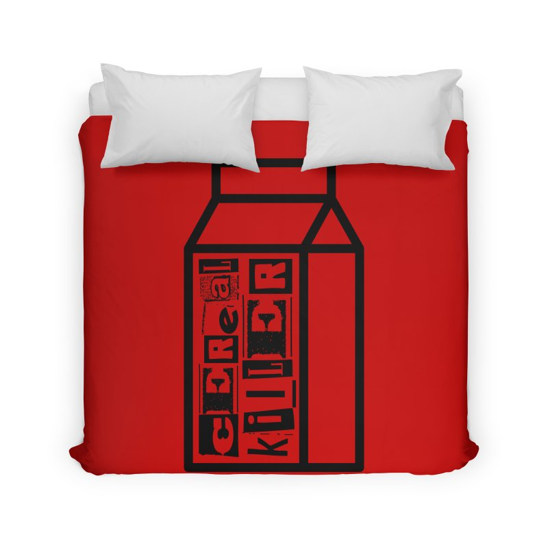 Cereal Killer Home Duvet by iconnico