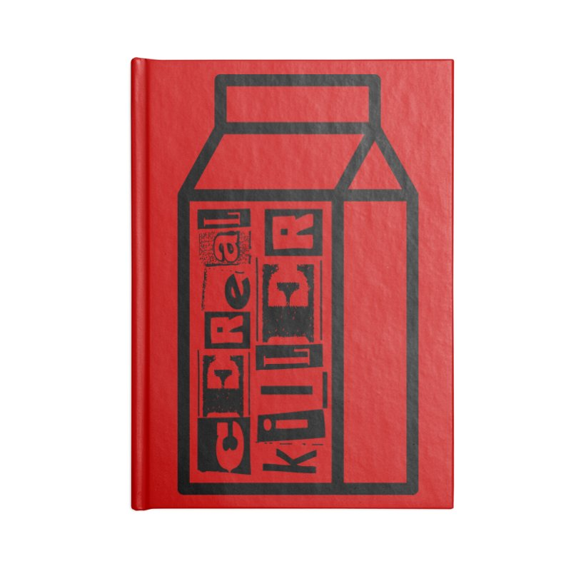 Cereal Killer Accessories Lined Journal Notebook by iconnico