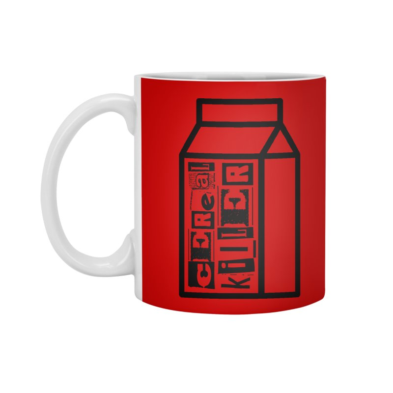 Cereal Killer Accessories Standard Mug by iconnico