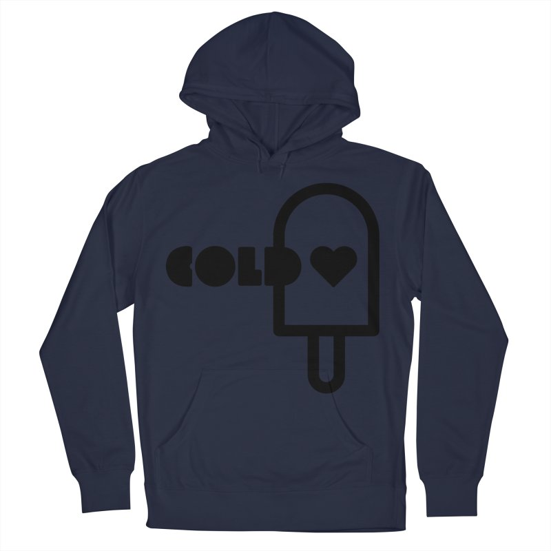 Cold Heart Women's French Terry Pullover Hoody by iconnico
