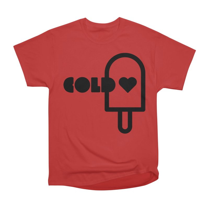 Cold Heart Women's Heavyweight Unisex T-Shirt by iconnico