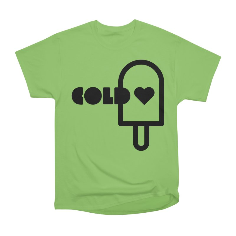 Cold Heart Men's Heavyweight T-Shirt by iconnico