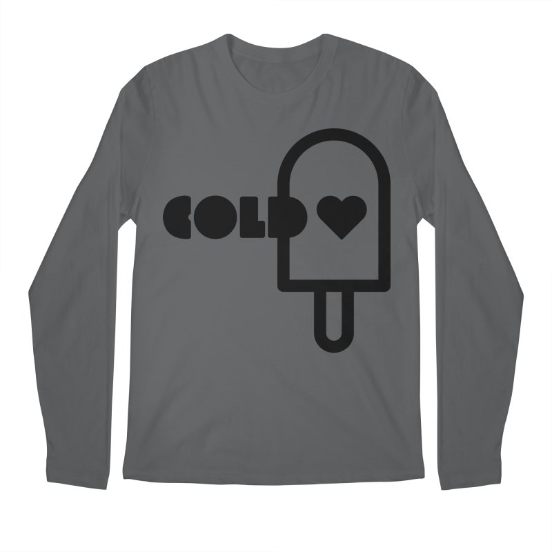 Cold Heart Men's Longsleeve T-Shirt by iconnico