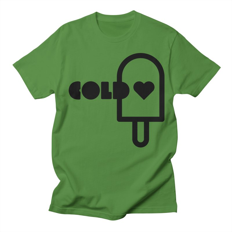 Cold Heart Men's T-Shirt by iconnico
