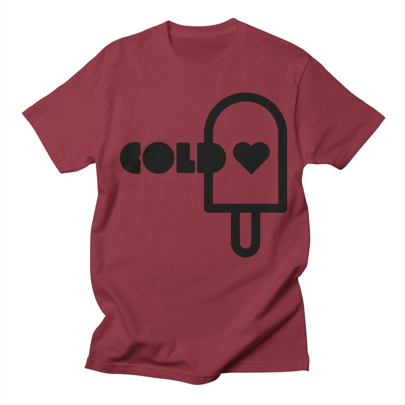 Cold Heart Men's Regular T-Shirt by iconnico