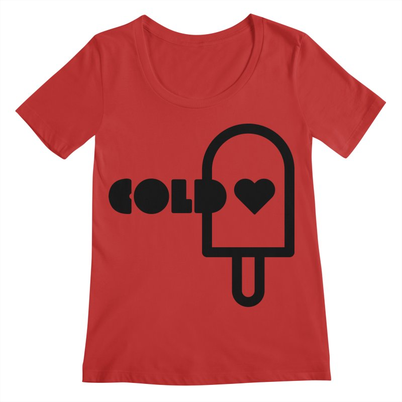 Cold Heart Women's Regular Scoop Neck by iconnico