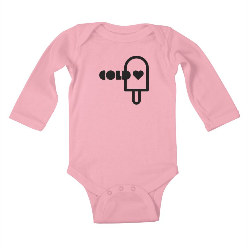 Cold Heart Kids Baby Longsleeve Bodysuit by iconnico