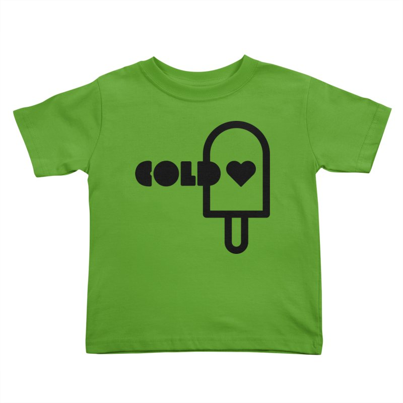 Cold Heart Kids Toddler T-Shirt by iconnico