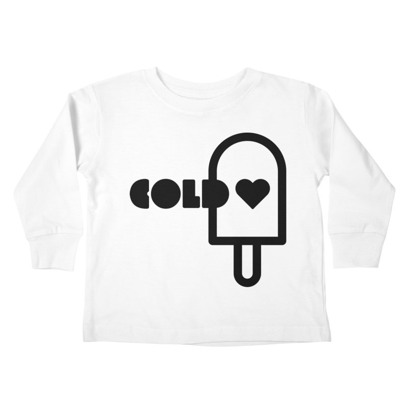 Cold Heart Kids Toddler Longsleeve T-Shirt by iconnico