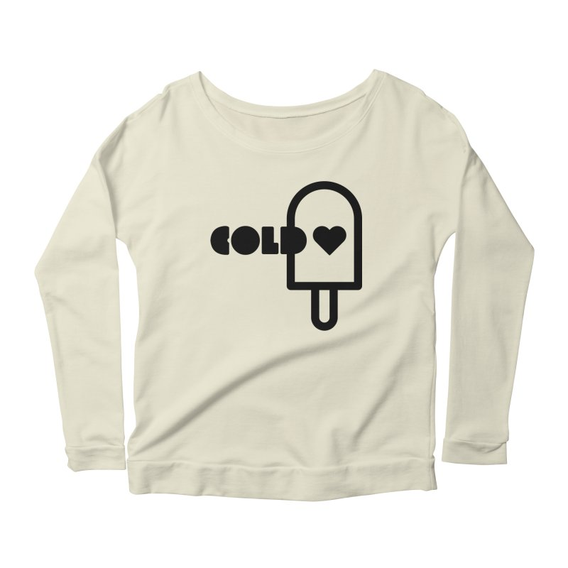Cold Heart Women's Scoop Neck Longsleeve T-Shirt by iconnico