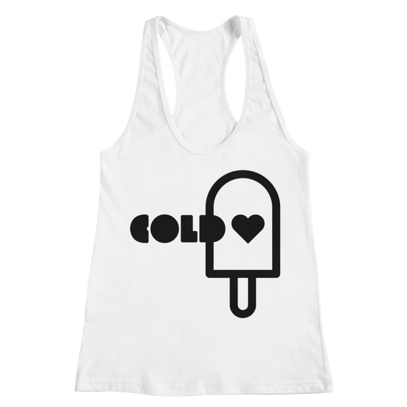 Cold Heart Women's Racerback Tank by iconnico