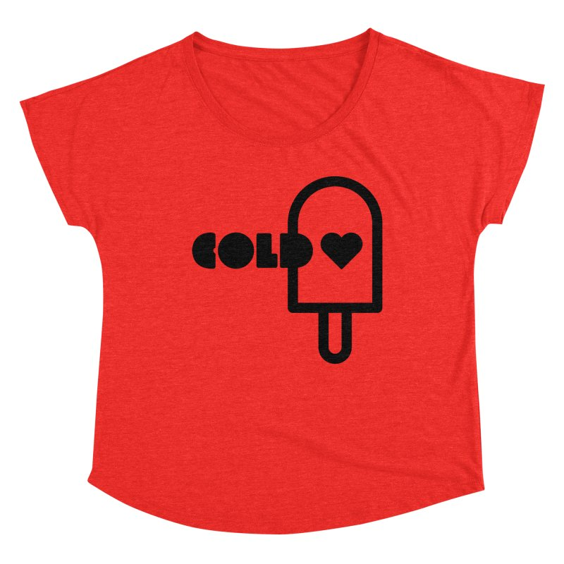 Cold Heart Women's Scoop Neck by iconnico