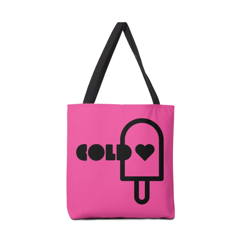 Cold Heart Accessories Tote Bag Bag by iconnico