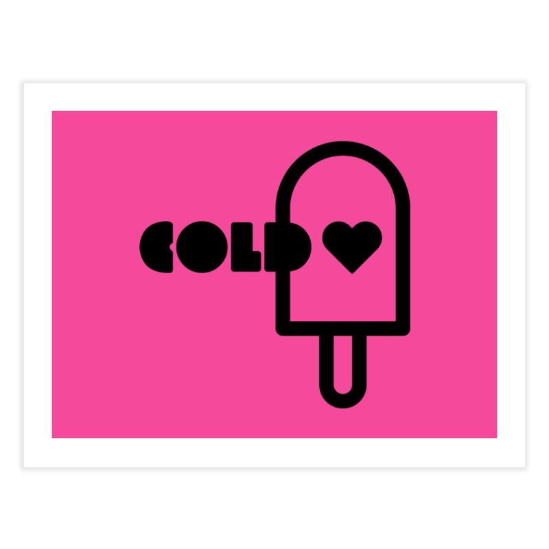 Cold Heart Home Fine Art Print by iconnico