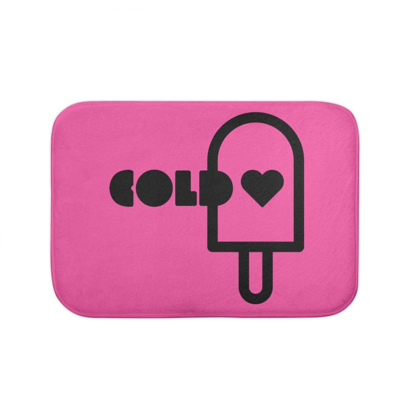 Cold Heart Home Bath Mat by iconnico