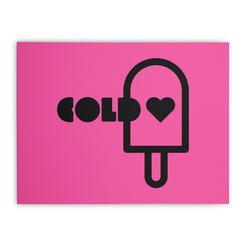 Cold Heart Home Stretched Canvas by iconnico