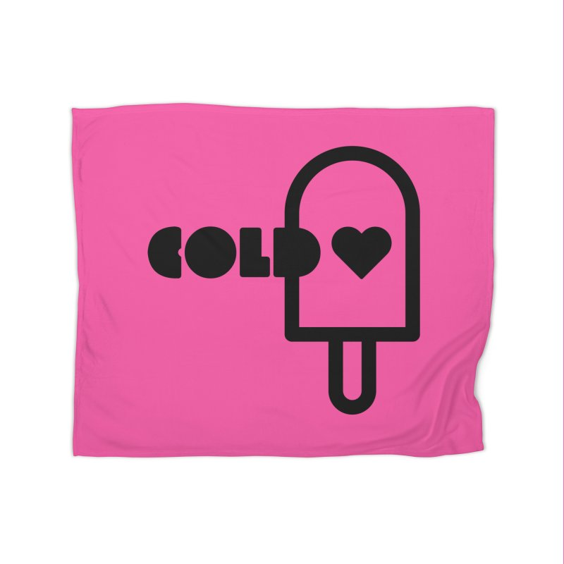 Cold Heart Home Fleece Blanket Blanket by iconnico