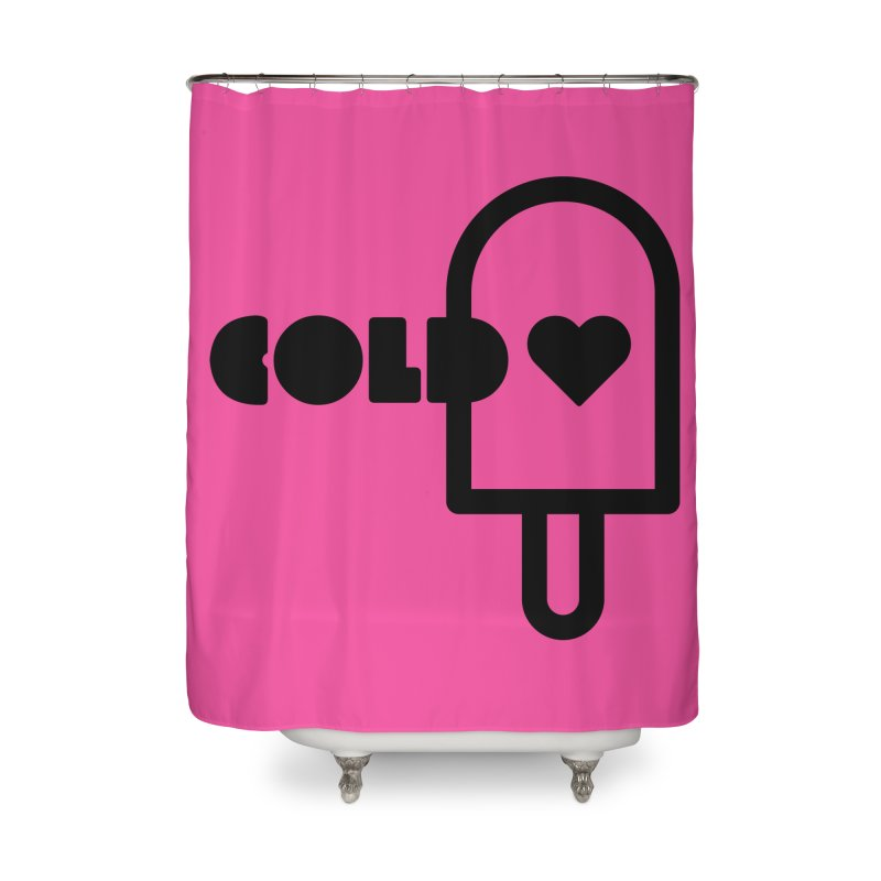Cold Heart Home Shower Curtain by iconnico