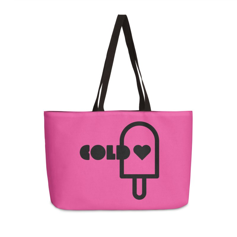 Cold Heart Accessories Weekender Bag Bag by iconnico