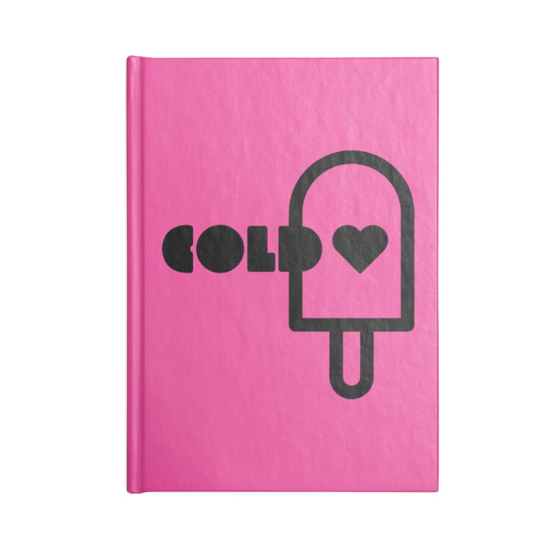 Cold Heart Accessories Blank Journal Notebook by iconnico