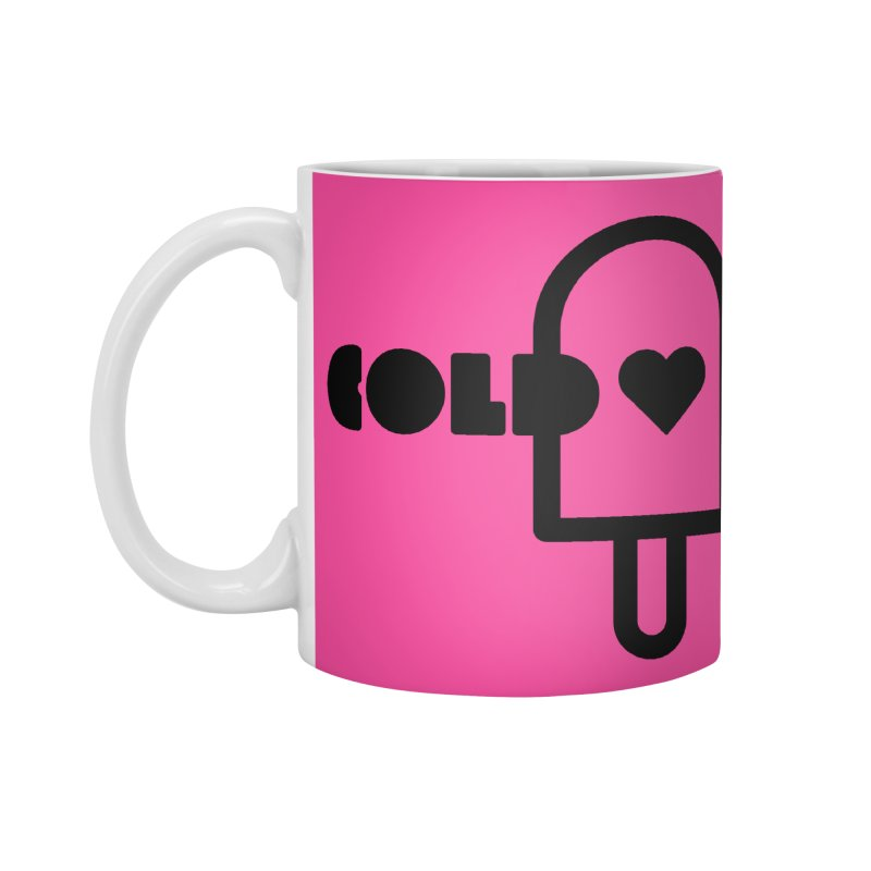 Cold Heart Accessories Mug by iconnico