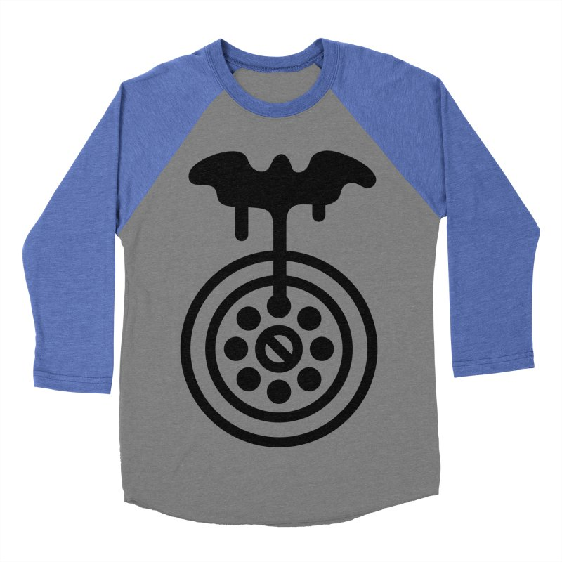 Bath Man Men's Baseball Triblend Longsleeve T-Shirt by iconnico
