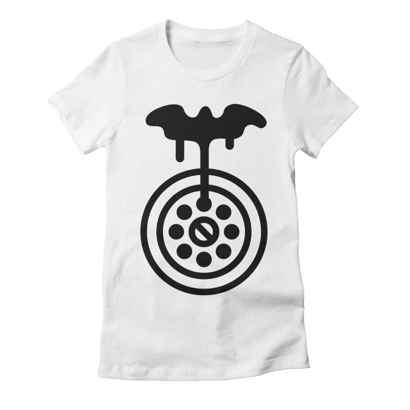 Bath Man Women's Fitted T-Shirt by iconnico