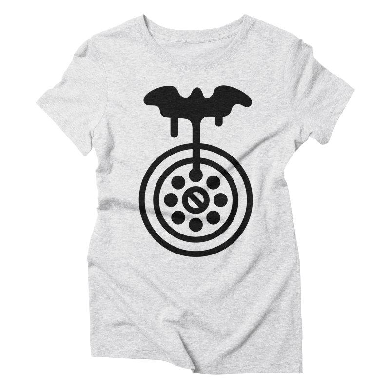 Bath Man Women's Triblend T-Shirt by iconnico