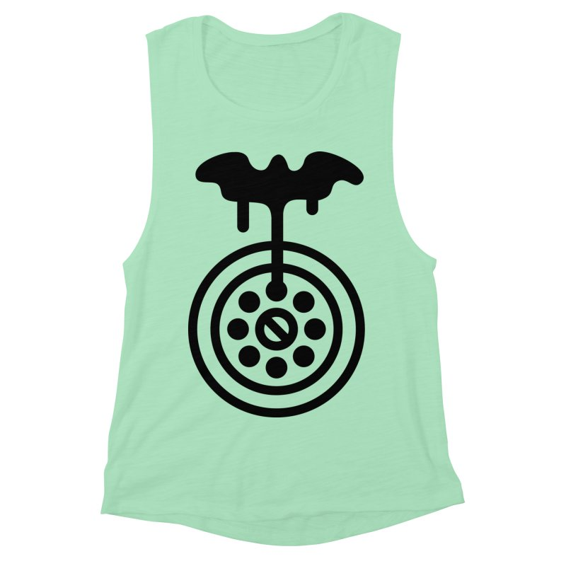 Bath Man Women's Muscle Tank by iconnico