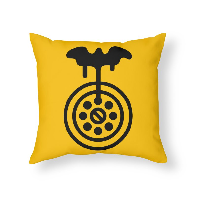 Bath Man Home Throw Pillow by iconnico