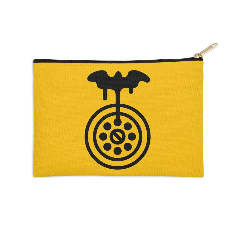 Bath Man Accessories Zip Pouch by iconnico