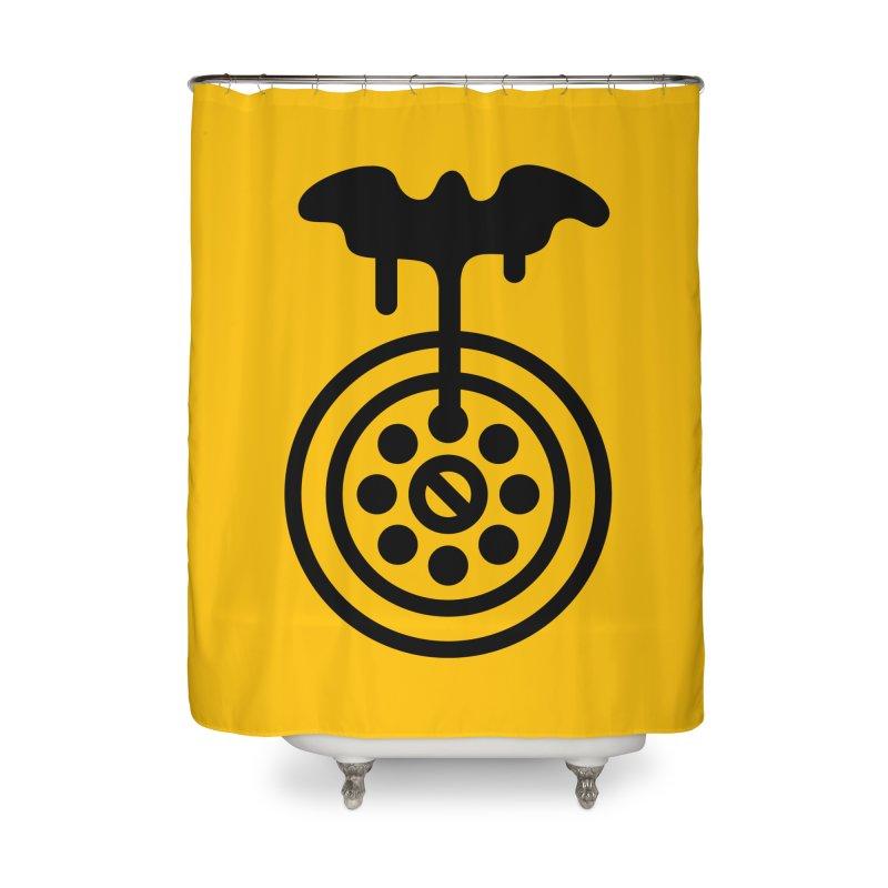 Bath Man Home Shower Curtain by iconnico